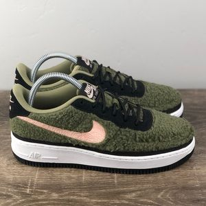 NEW Nike Air Force 1 Shearling Olive